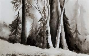 Nan Davis, Untitled (Forrest Trees)