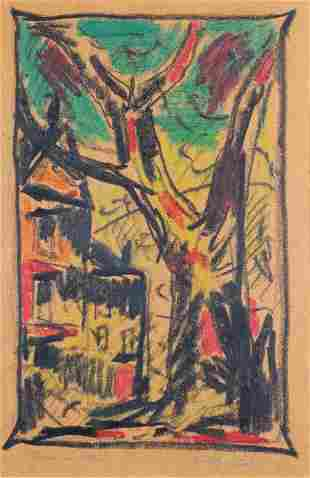 Willy Stahl, House and Tree
