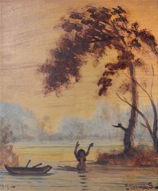 Louis Eilshemius, Remembering Samoa