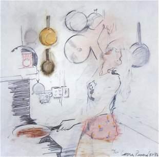 Larry Rivers, Kitchen