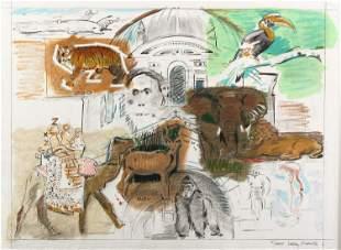 Larry Rivers, Bronx Zoo