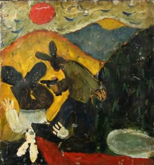 John Coltan, Incident at Kiger Island