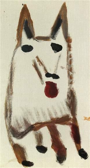 Jimmy Lee Suddeth, Untitled (Dog)