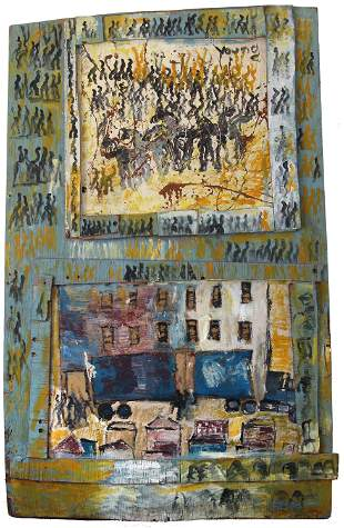 Purvis Young, Untitled (City Truck)