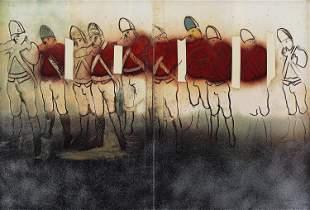 Larry Rivers, Redcoats-Mist