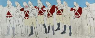 Larry Rivers, Redcoats (Fold-Out)