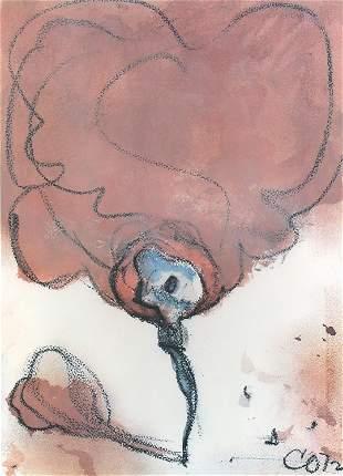 Claes Oldenburg, Typewriter Eraser as a Tornado