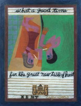 Eddie Arning, Kent Cigarettes