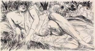 Andre Dunoyer de Segonzac, Untitled