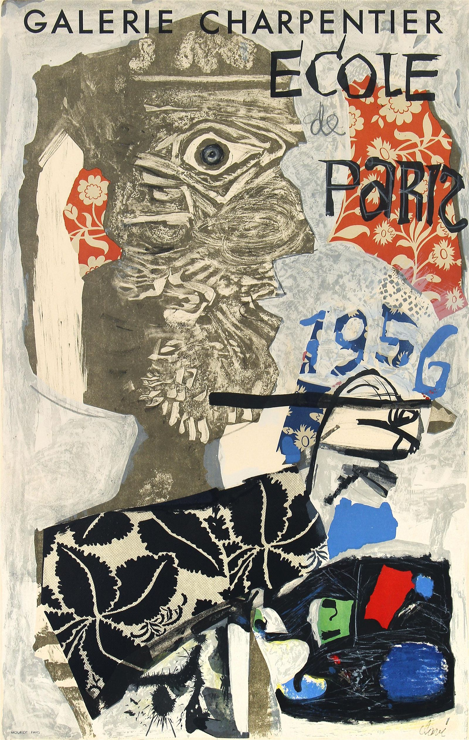 Antoni Clave, Galerie Charpentier (Exhibition Poster)