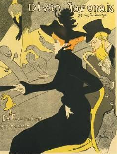 Henri Toulouse Lautrec, Divan Japonais