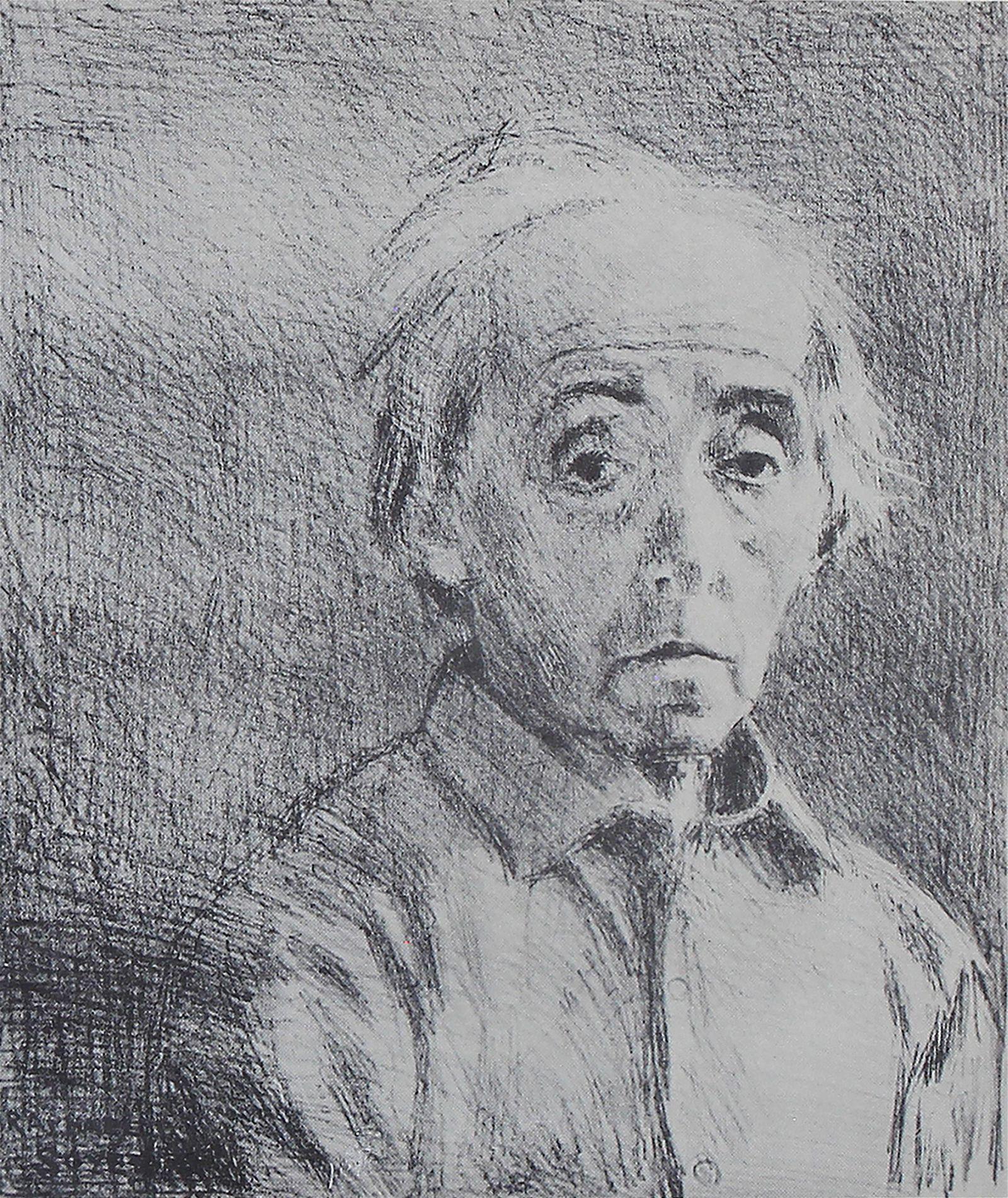 Raphael Soyer, Self Portrait