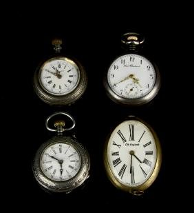 4 AGO Pocket Watches