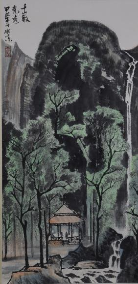 LiKeRan Landscape Scroll Painting