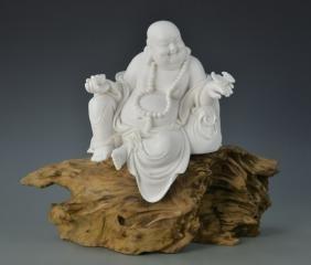 Chinese Blanc de Chine Buddha