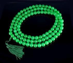 Malaysian Jade Prayer Beads