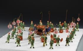 Group of Chinese Pottery Figures