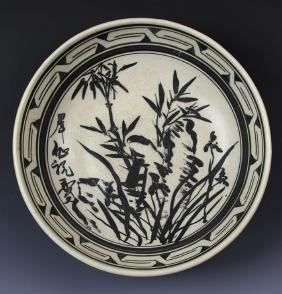 Chinese Black Glazed Bowl