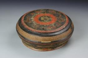 Chinese Wood Lacquer Box