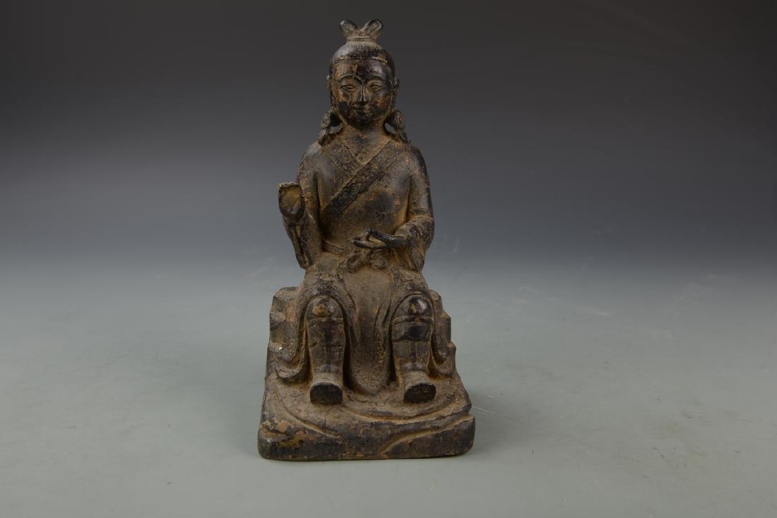 Chinese Antique Bronze Buddha Figure