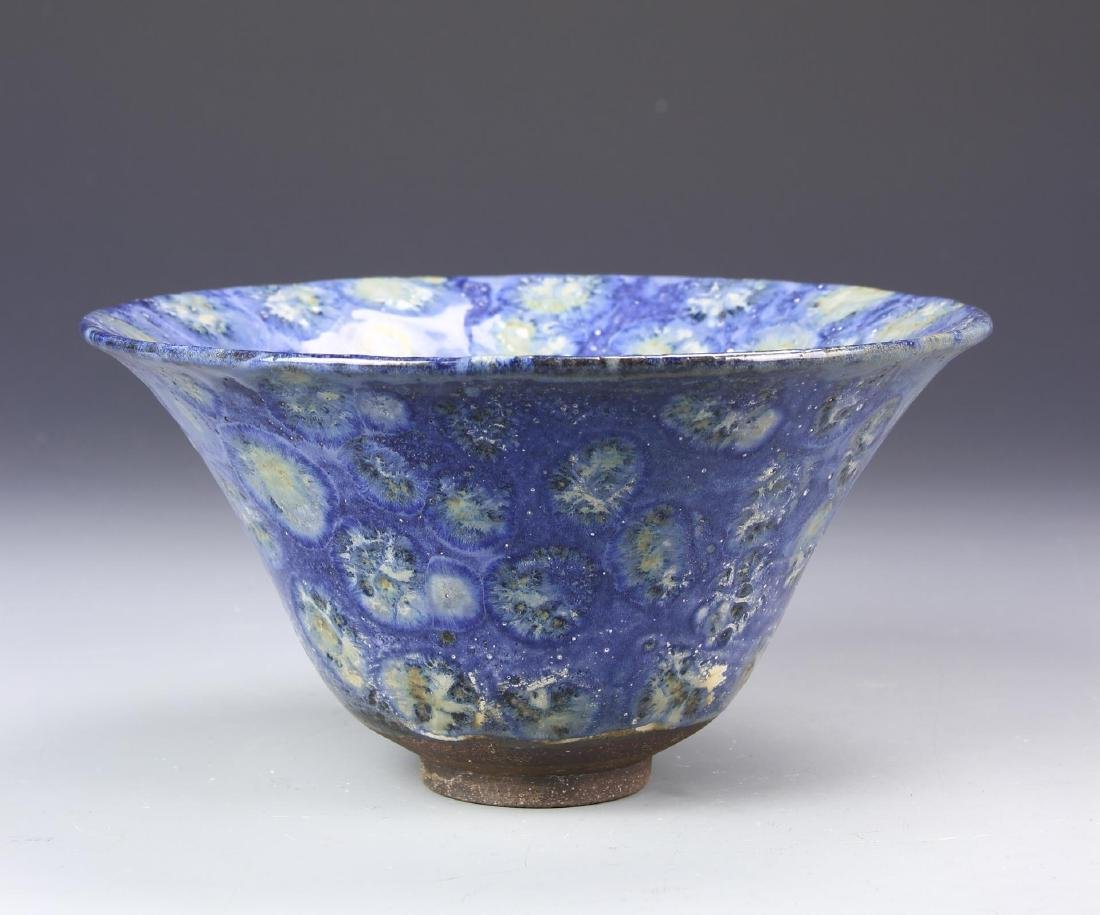 Blue Glazed Bowl