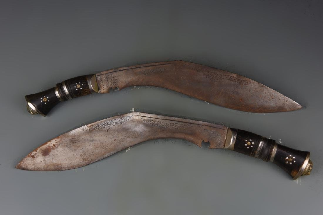 Pair of Indian Knifes