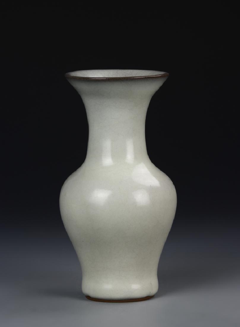Chinese Longquan Yao White Vase
