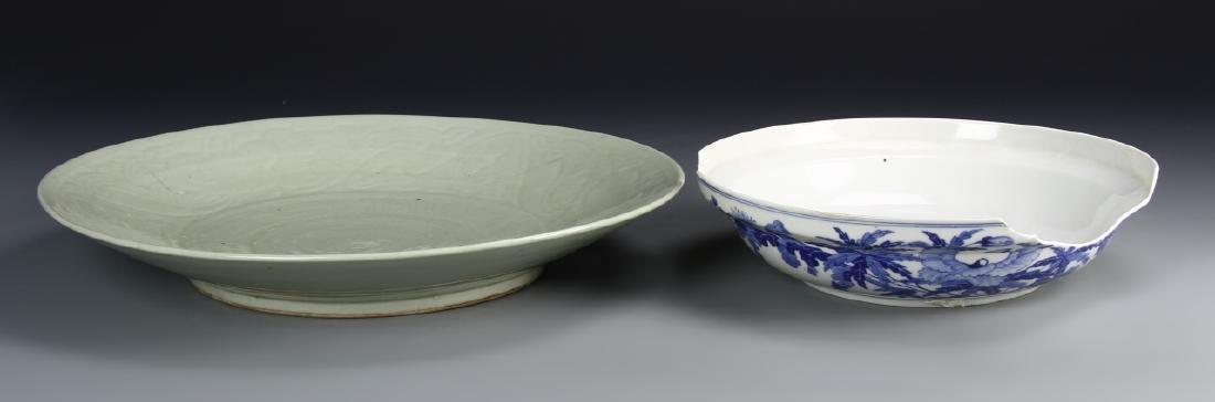 Chinese Celadon Plates