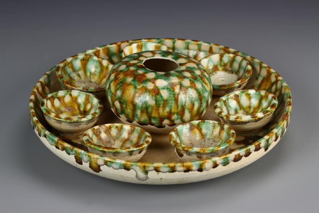 Chinese Sancai Plate