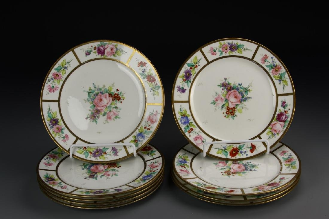 A Set Of Famille Rose Plates
