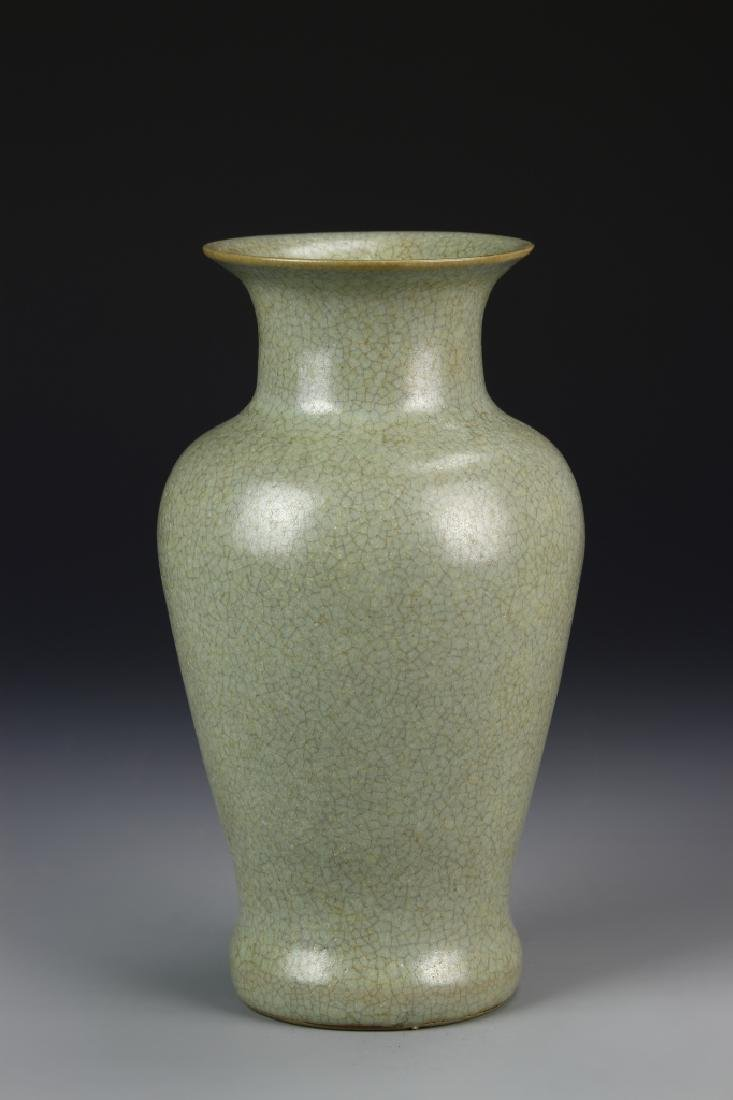 Chinese Lung Quan Yao Vase