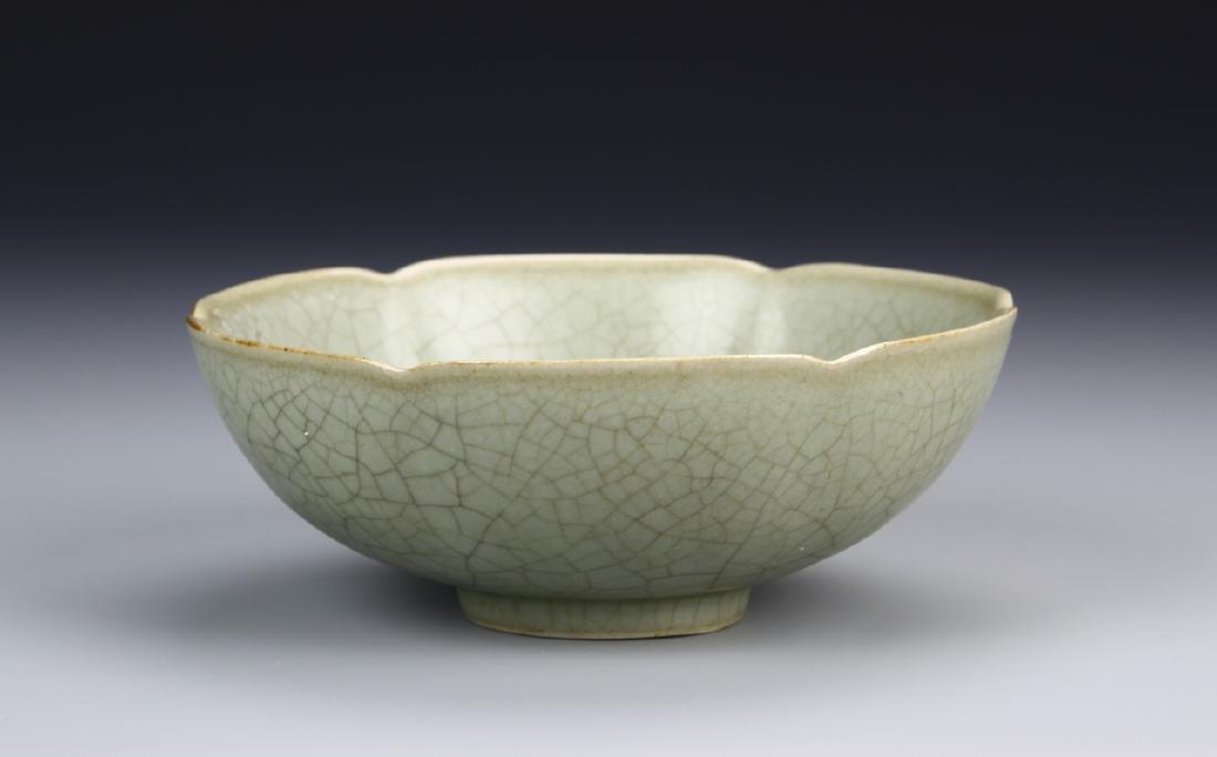 Chinese Ming Dynasty Celadon Glazed Bowl