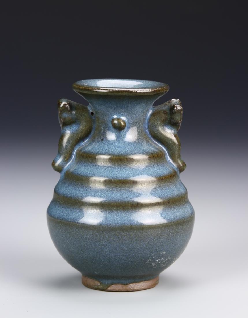 Chinese Jun Yao Vase