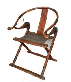 Chinese Hardwood Folding Chairs