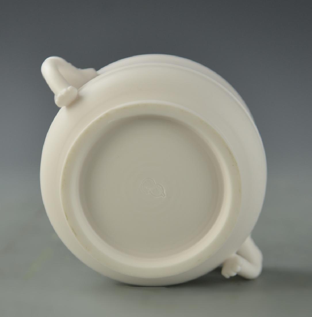 Chinese Blanc de Chine Censer - 3