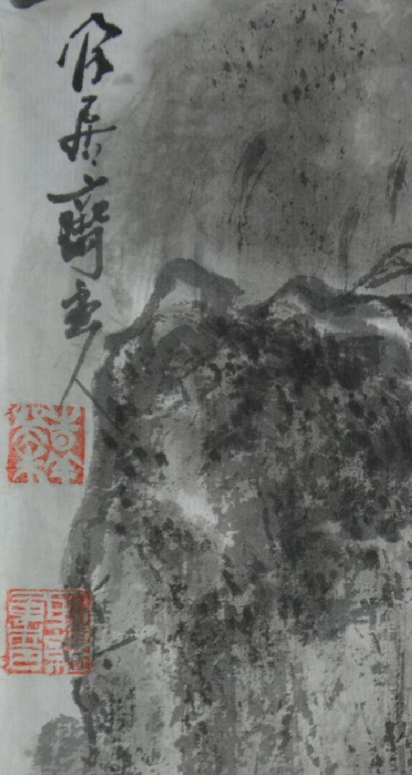 Two Chinese Scroll Painting - 2