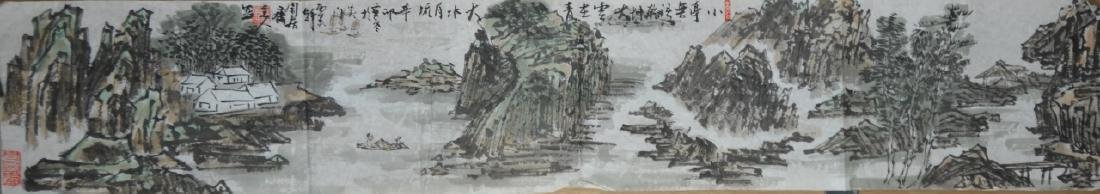 Two Chinese Scroll Painting - 3