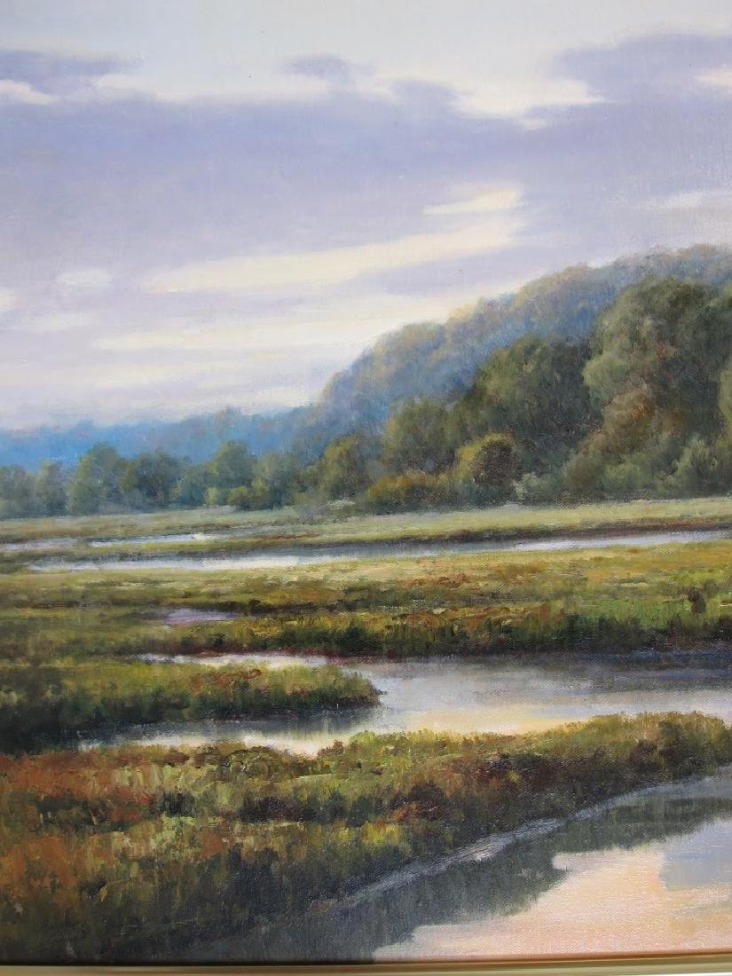 G. Wilson, Landscape, Oil on Canvas - 2