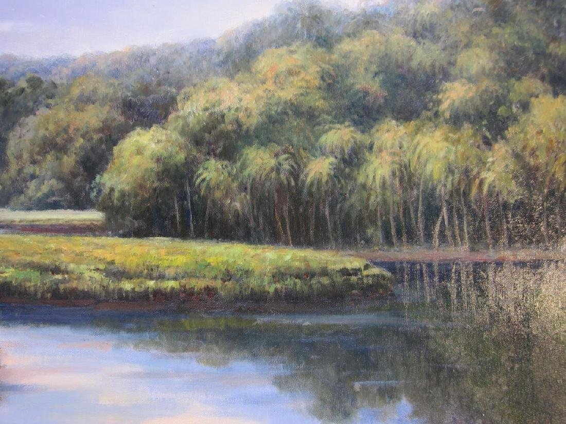 G. Wilson, Landscape, Oil on Canvas - 3