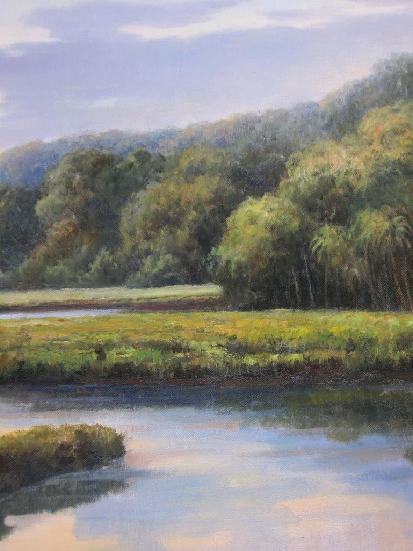 G. Wilson, Landscape, Oil on Canvas - 4