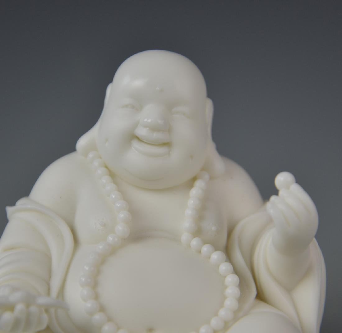 Chinese Blanc de Chine Buddha - 2