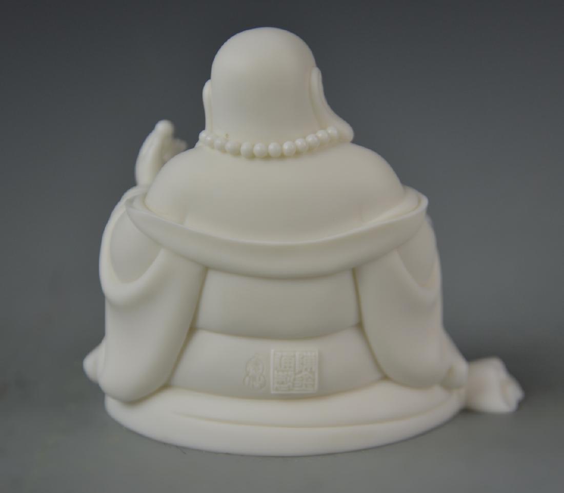 Chinese Blanc de Chine Buddha - 3