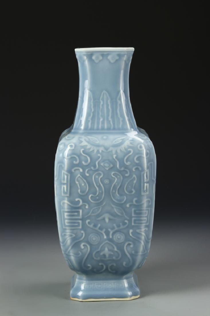 Chinese Celadon Glazed Vase - 3