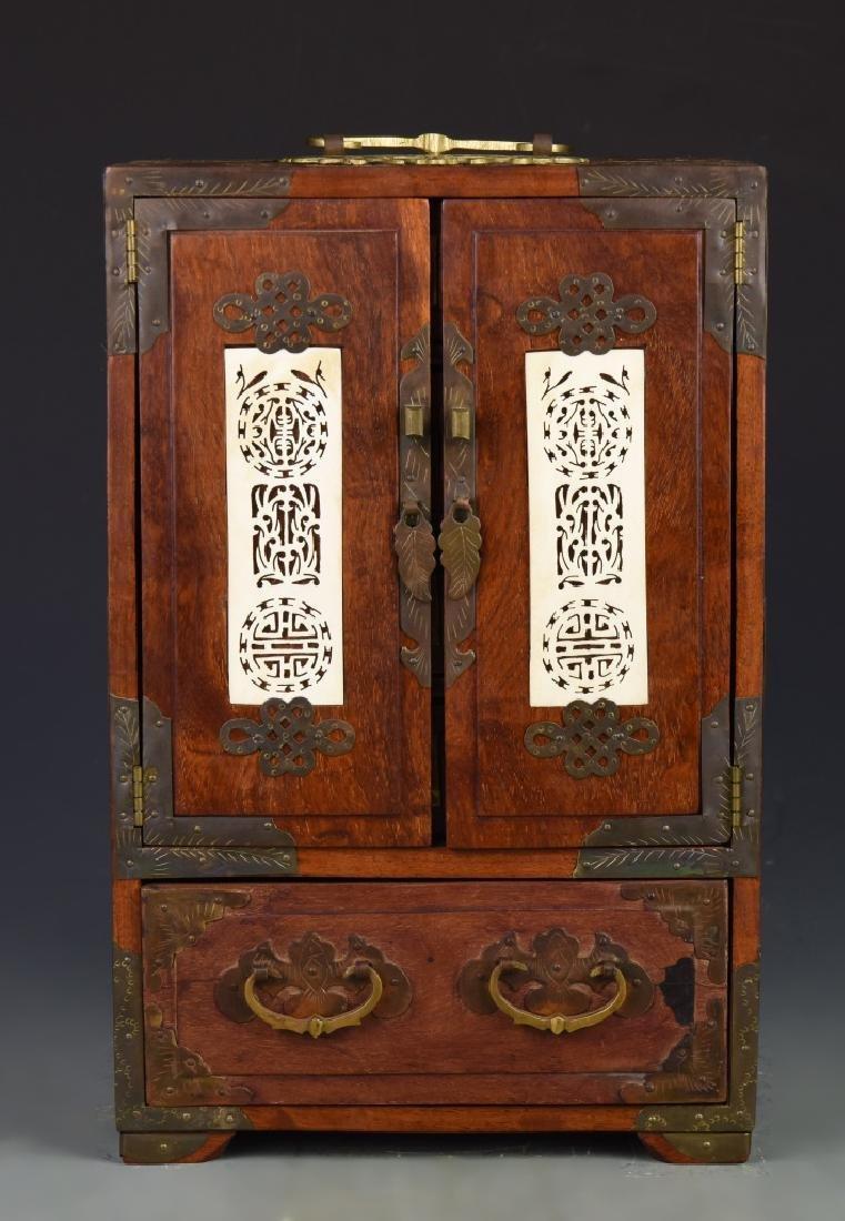 Chinese Vintage Jewelry Box