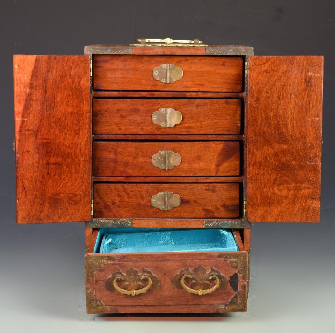 Chinese Vintage Jewelry Box - 4