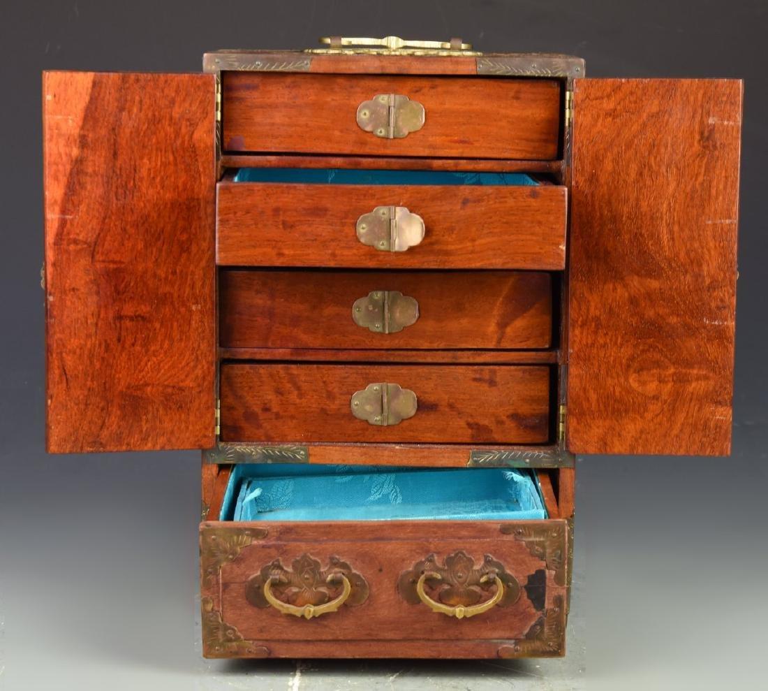 Chinese Vintage Jewelry Box - 5