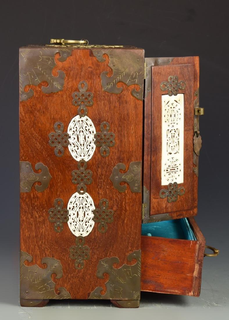 Chinese Vintage Jewelry Box - 6