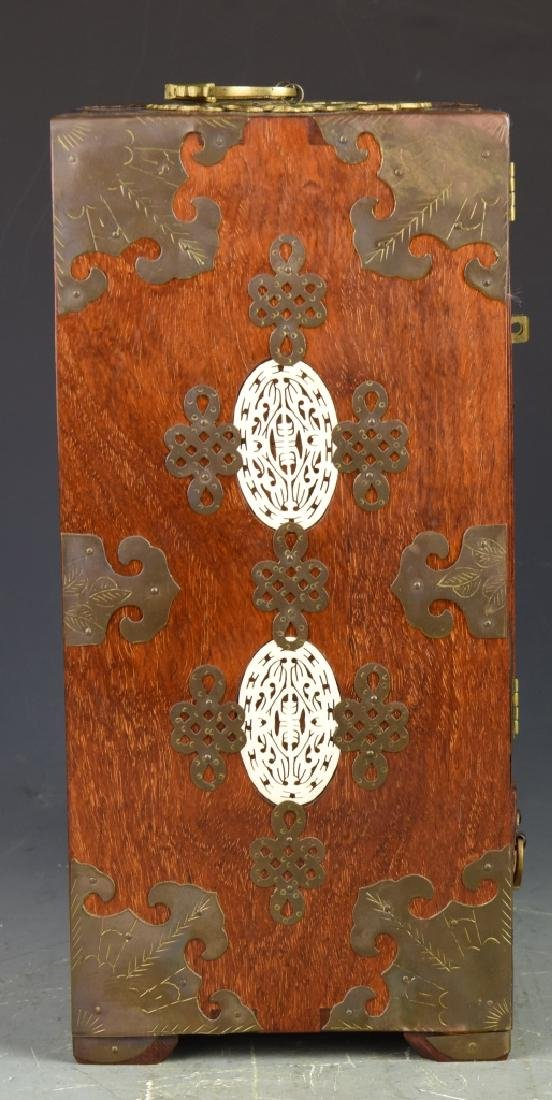 Chinese Vintage Jewelry Box - 7