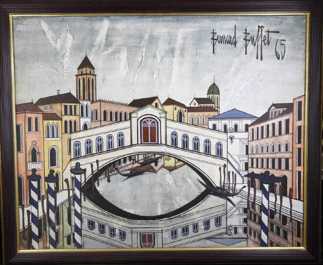 Oil On Canvas of Venice Street Scenes