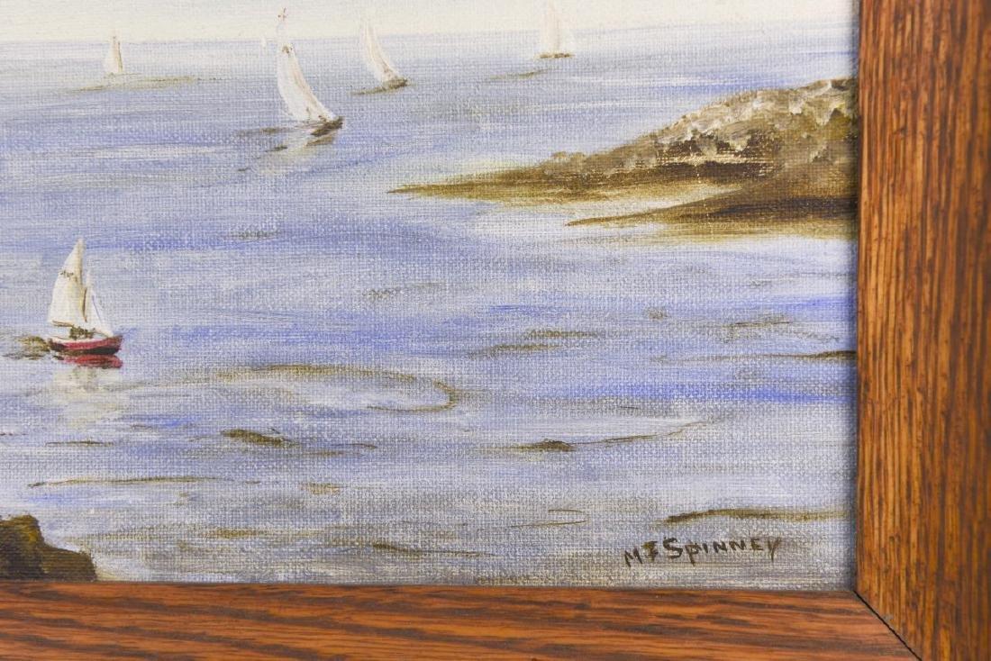 Oil Painting of Shore Scene - 3